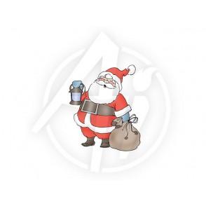 Štampiljka, Christmas Santa
