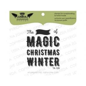 Štampiljka, The magic od christmas winter