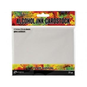 Papir za uporabo alkoholnih inkov