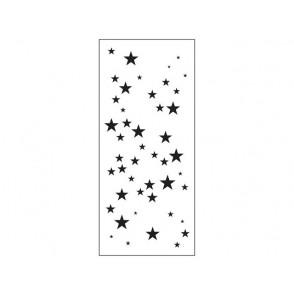 Plastična šablona, Slimline, Star Sparkle
