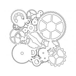 Plastična predloga, Mini Gears