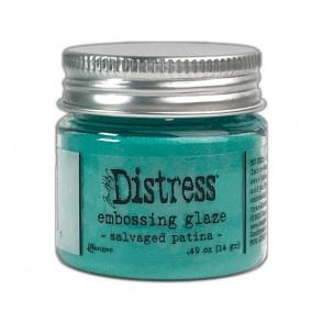 Distress Embossing Glaze, Salvaged Patina