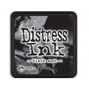Barvna blazinica, Distress Mini Ink, Black Soot
