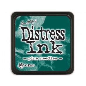 Barvna blazinica, Distress Mini Ink, Pine Needles