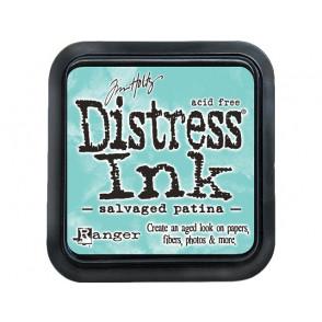 Barvna blazinica, Distress Ink, Salvaged Patina