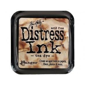 Barvna blazinica, Distress Ink, Tea dye
