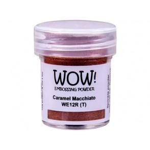 Embossing prah, Caramel Macchiato