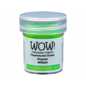 Embossing prah, Fluorescent Green