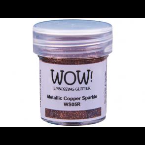Embossing prah, Metallic Copper Sparkle