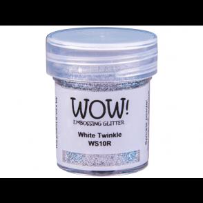 Embossing prah, White Twinkle