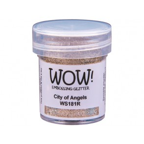 Embossing prah, glitter, City of Angels
