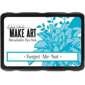 Barvna blazinica, Make Art, Forget Me Not