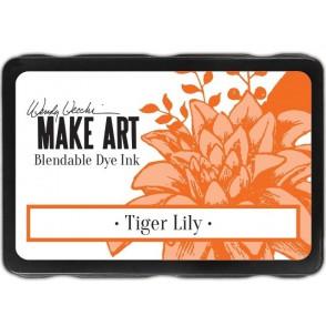 Barvna blazinica, Make Art, Tiger Lily