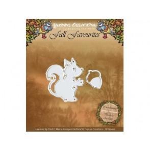 Rezalna šablona, Fall Favourites, Squirrel