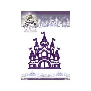 Rezalna šablona, Magical winter, castle