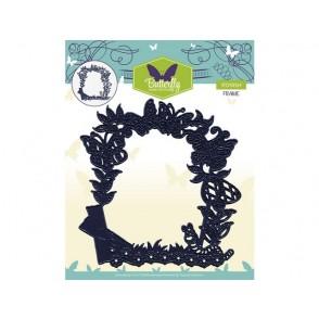 Rezalna šablona, Butterfly, Frame