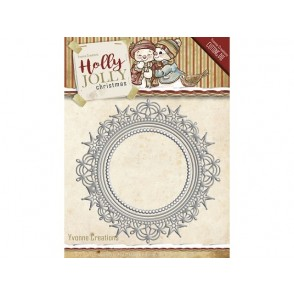 Rezalna šablona, Holly Jolly, Nesting frame