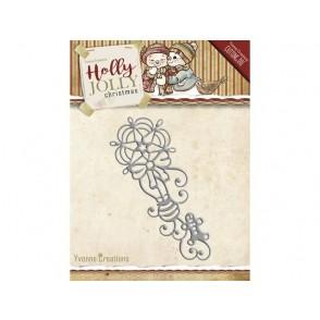 Rezalna šablona, Holly Jolly, Ornament