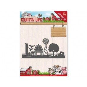 Rezalna šablona, Country Life, Farm border