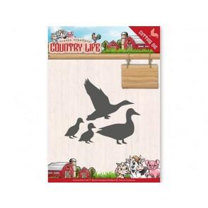 Rezalna šablona, Country Life, ducks