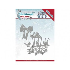 Rezalna šablona, Christmas Dreams, Christmas lantern
