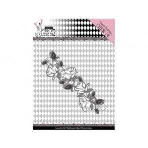Rezalna šablona, Pretty Pierrot 2, Rose Border