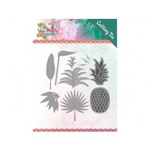 Rezalna šablona, Happy Tropics, Lush leaves