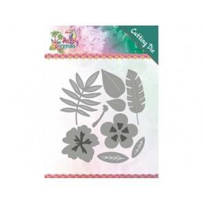 Rezalna šablona, Happy Tropics, Tropical blooms