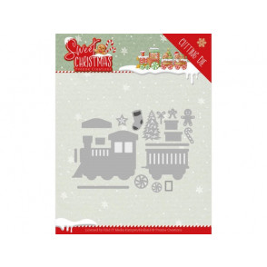 Rezalna šablona, Sweet Christmas, Sweet Christmas Train