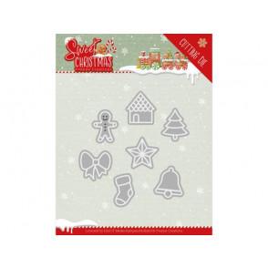 Rezalna šablona, Sweet Christmas, Sweet Christmas Cookies