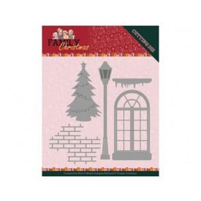 Rezalna šablona, Family Christmas, Christmas window