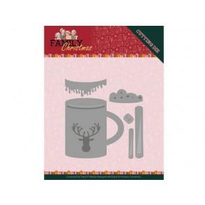 Rezalna šablona, Family Christmas, Hot Drink