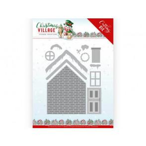 Rezalna šablona, Christmas Village, Build Up House