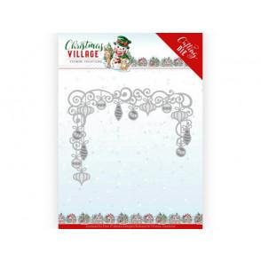 Rezalna šablona, Christmas Village, Christmas Baubles
