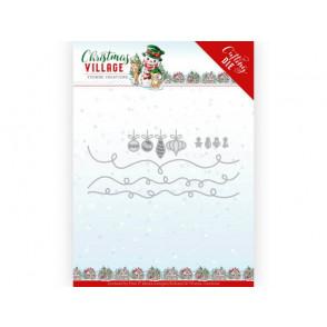 Rezalna šablona, Christmas Village, Christmas Lights