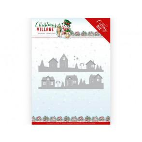 Rezalna šablona, Christmas Village, House Scene