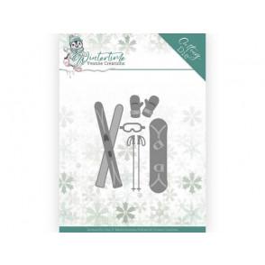 Rezalna šablona, Winter Time, Ski Accessoires