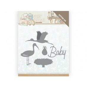 Rezalna šablona, Newborn, Stork