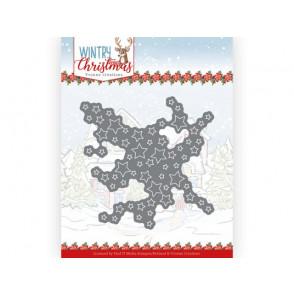 Rezalna šablona, Wintery Christmas, Cut out Stars