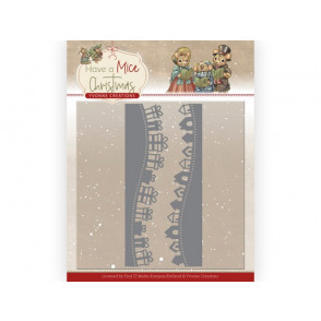 Rezalna šablona, Have a Mice Christmas, Christmas gift borders