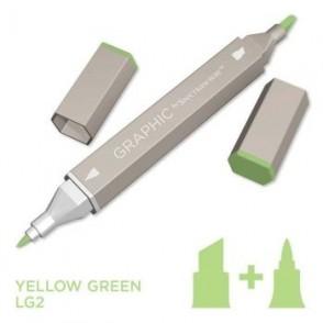 Marker Graphic, Yellow green