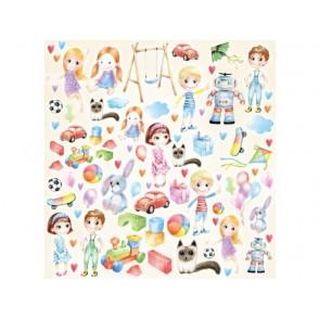 Papir, izrezki, Joyful Kids
