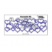 Rezalna šablona, Decorette XL, št. 14