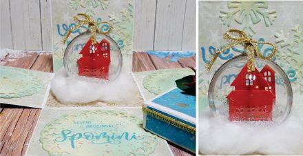 Škatlica presenečenja - božična bunkica