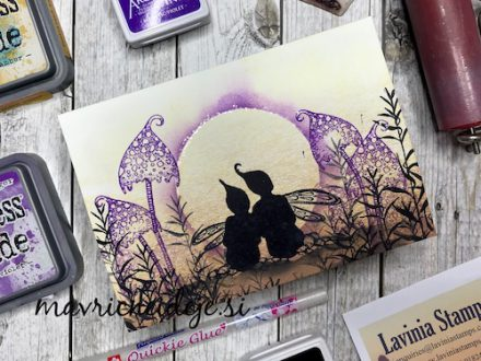 Lavinia Stamp - uporaba valjčka - Andreja