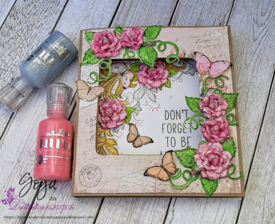 Heartfelt - shadow box - Goga