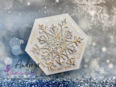 54. izziv FB Papirčkarice – karkoli s snežinkami