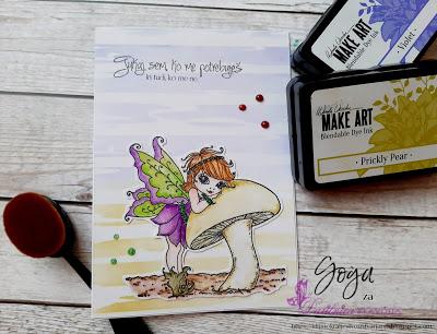 Whimsy stamp - jesenska vila