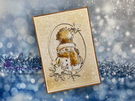 55. izziv FB Papirčkarice – sneženi mož - Andreja