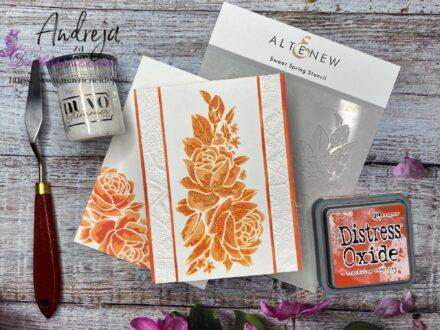 Altenew  - Sweet Spring Stencil